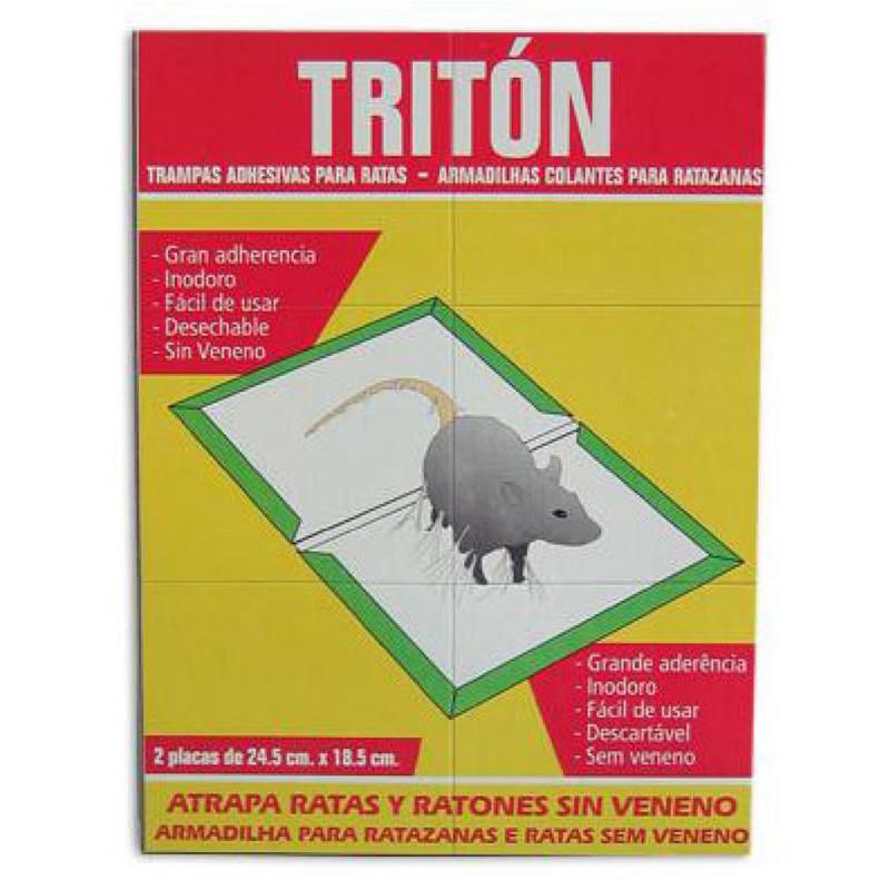 Triton trampa ratones (cartón)