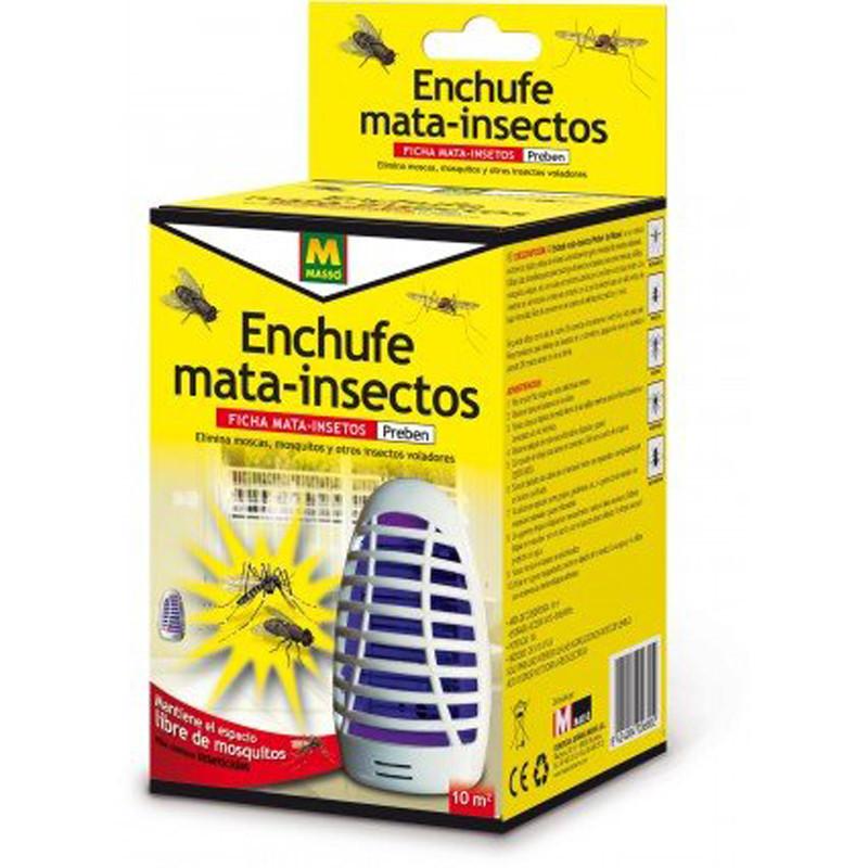 Enchufe eléctrico mata insectos