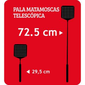 Matamoscas telescópica