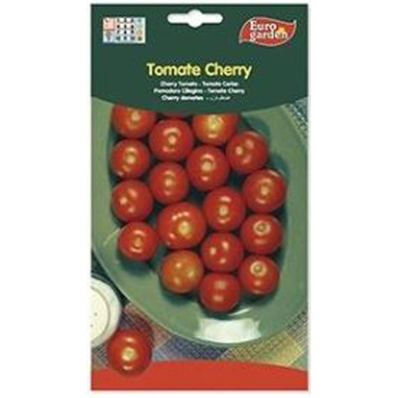 Semilla sobre tomate Cherry