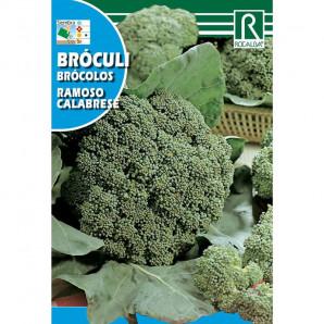 Semilla sobre brócoli